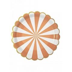 Πιάτο φαγητού TS Orange Stripe - ΚΩΔ:45-1225-JP