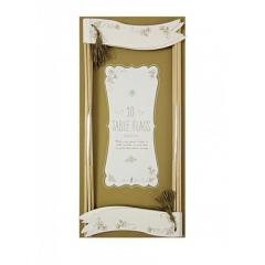 Σημαίες τραπεζιού Gold Floral - ΚΩΔ:45-0962-JP