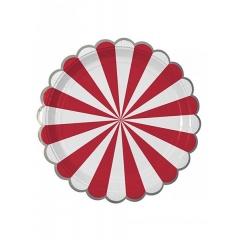 Πιάτο Φαγητού TS Red Stripe - ΚΩΔ:127072-JP