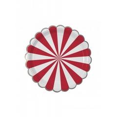 Πιάτο γλυκού TS Red Stripe - ΚΩΔ:45-1406-JP