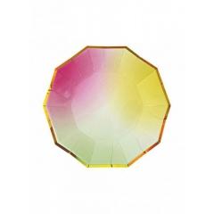 Πιάτο γλυκού Ombre 8τμχ. - ΚΩΔ:45-1670-JP