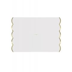 Χάρτινα σουπλά λευκά 24τμχ. - ΚΩΔ:133345-JP