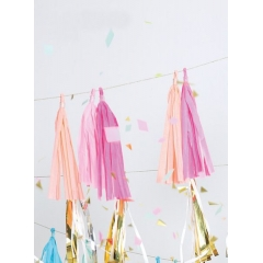 Pink party tassels - ΚΩΔ:45-1719-JP