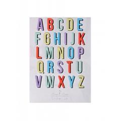 Alphabet Αυτοκόλλητα - ΚΩΔ:61-0056-JP