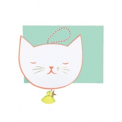 Cat-Face Ευχετήρια Κάρτα - ΚΩΔ:15-3481H-JP