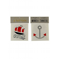 Boat & Anchor Τατουάζ 2τμχ - ΚΩΔ:45-1380-JP