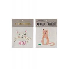 Cat Τατουάζ 2τμχ - ΚΩΔ:143155-JP
