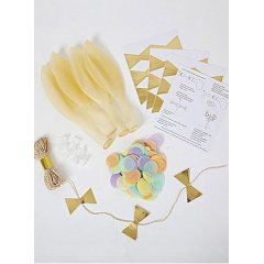 Pastel Balloon Kit (8τεμ) - ΚΩΔ:45-2325-JP