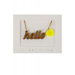 Hello Sunshine Κολιέ - ΚΩΔ:134605-JP