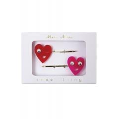 Heart Κλιπ Μαλλιών 2τμχ - ΚΩΔ:142111-JP