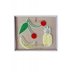 Fruit Καρφίτσες 3τμχ - ΚΩΔ:144640-JP