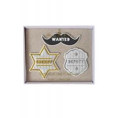 Sheriff Καρφίτσες 3τμχ - ΚΩΔ:147304-JP
