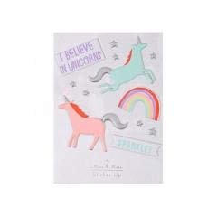 Unicorns Αυτοκόλλητα - ΚΩΔ:146593-JP
