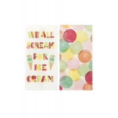 Χαρτοπετσέτα We Heart Ice Cream Cream - ΚΩΔ:ICE-DUONAPKIN-JP