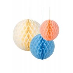 Χάρτινα Διακοσμητικά Honeycomb Oasis - ΚΩΔ:DD-HONOASISMIX-JP