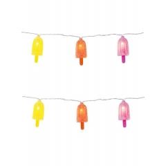 Φωτιζόμενη Διακοσμητική Γιρλάντα Παγωτά - ΚΩΔ:ICE-LIGHTS-LOLLY-JP