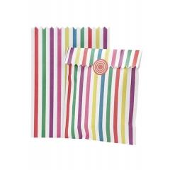 Τσάντα Δώρου Πολύχρωμη Ριγέ - ΚΩΔ:MIX-BAG-MULTI-JP