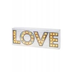 Φωτιζόμενη Πινακίδα Love - ΚΩΔ:ILLUM-LOVE-JP