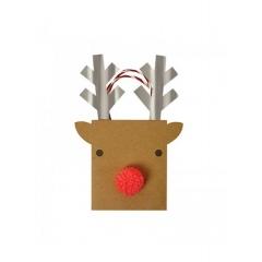 Τσάντα δώρου μικρή Reindeer - ΚΩΔ:44-0149-JP