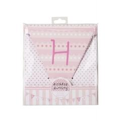 Pink n Mix Γιρλάντα Happy Birthday - ΚΩΔ:PK-BUNTING-JP