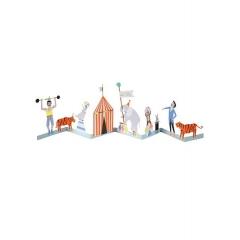 Τσίρκο Κάρτα Γενεθλίων - ΚΩΔ:160579-JP