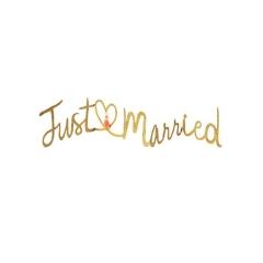 Just Married Ευχετήρια Κάρτα - ΚΩΔ:16-0199W-JP