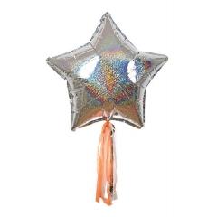 Ασημί Αστέρια Balloon Kit - ΚΩΔ:151741-JP