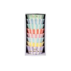Cupcake Cases Παστέλ Χρώματα - ΚΩΔ:157006-JP