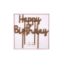 Διακοσμητικό Τούρτας Happy Birthday - ΚΩΔ:157060-JP