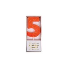 Κεράκι Νο 5 Πορτοκαλί - ΚΩΔ:158428-JP