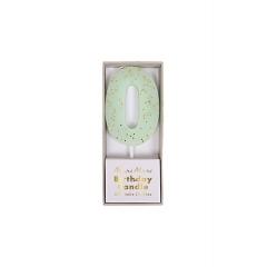 Κεράκι Νο 0 Mint - ΚΩΔ:158473-JP