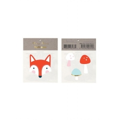 Fox & Mushrooms Tattoos - ΚΩΔ:159805-JP