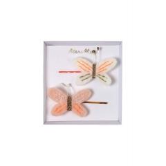 Κλιπ Μαλλιών Πεταλούδες - ΚΩΔ:160084-JP