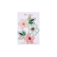 Αυτοκόλλητα Θερμότητας Λουλούδια - ΚΩΔ:160921-JP