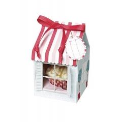 Cupcake box σπιτάκι - ΚΩΔ:45-0207-JP
