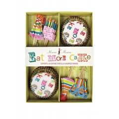 Cupcake Kit Eat more cake - ΚΩΔ:45-0110-JP