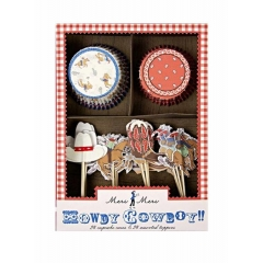 Cupcake Kit Cowboy - ΚΩΔ:104860-JP