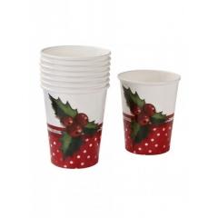 Χριστουγεννιάτικα Ποτήρια - ΚΩΔ:JH-CUP-JP