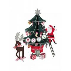Χριστουγεννιάτικο centerpiece stand - ΚΩΔ:45-0664-JP
