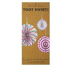Fun decoration Toot Sweet - ΚΩΔ:45-0872-JP