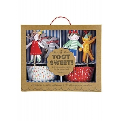 Cupcake kit Toot Sweet - ΚΩΔ:114445-JP