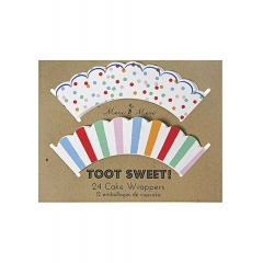Cupcake wrappers Toot Sweet - ΚΩΔ:45-0873-JP