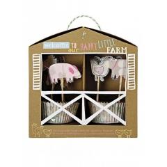 Cupcake kit Happy Farm - ΚΩΔ:45-0948-JP