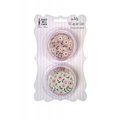 Cupcake Cases  Floral & Pink - ΚΩΔ:45-0932-JP