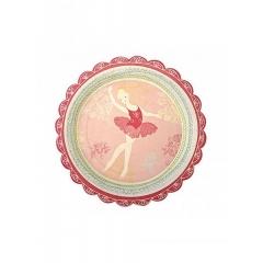 Πιάτο γλυκού Dancers Ballet - ΚΩΔ:113509-JP