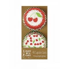 Cupcake cases Cherries - ΚΩΔ:45-0936-JP