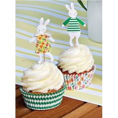 Cupcake Kit Χαρούμενα Λαγουδάκια - ΚΩΔ:45-0748-JP
