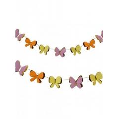 Γιρλάντα mini  Πεταλούδες - ΚΩΔ:45-1166-JP