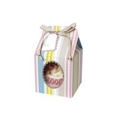 Cupcake box Pink House - ΚΩΔ:45-0232-JP