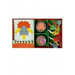 Cupcake kit Δεινόσαυρος - ΚΩΔ:124012-JP